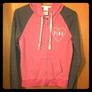 PINK Victoria's Secret zip hoodie